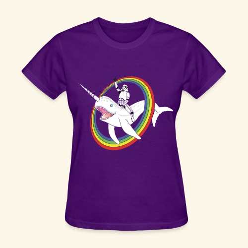 Narwhal Rainbow Stormtrooper - Women's T-Shirt