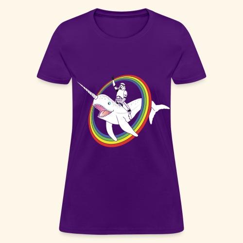 Narwhal Rainbow Stormtrooper - Women's T-Shirt