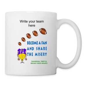 Football Fan Coffee Mug - Coffee/Tea Mug