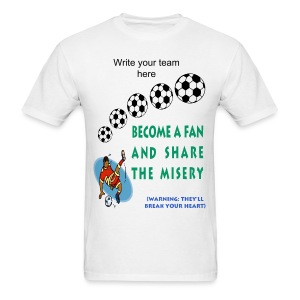 Soccer Fan T-Shirt For Men - Men's T-Shirt