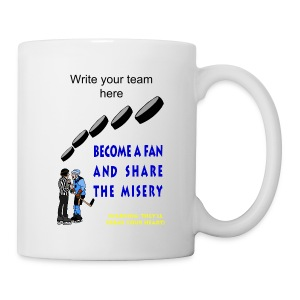 Hockey Fan Ceramic Beverage Mug - Coffee/Tea Mug