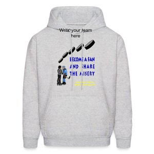 Hockey Fan Hooded Sweatshirt  For Men - Men's Hoodie