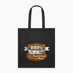 Funny Dad's Fix-It Shop Bags & backpacks