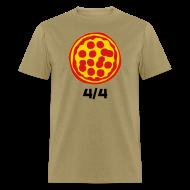 T-Shirts ~ Men's T-Shirt ~ 4/4 Rebanadas de Pizza