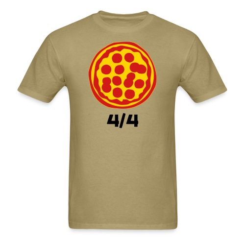 4/4 Rebanadas de Pizza - Men's T-Shirt