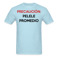 T-Shirts ~ Men's T-Shirt ~ Pelele Promedio