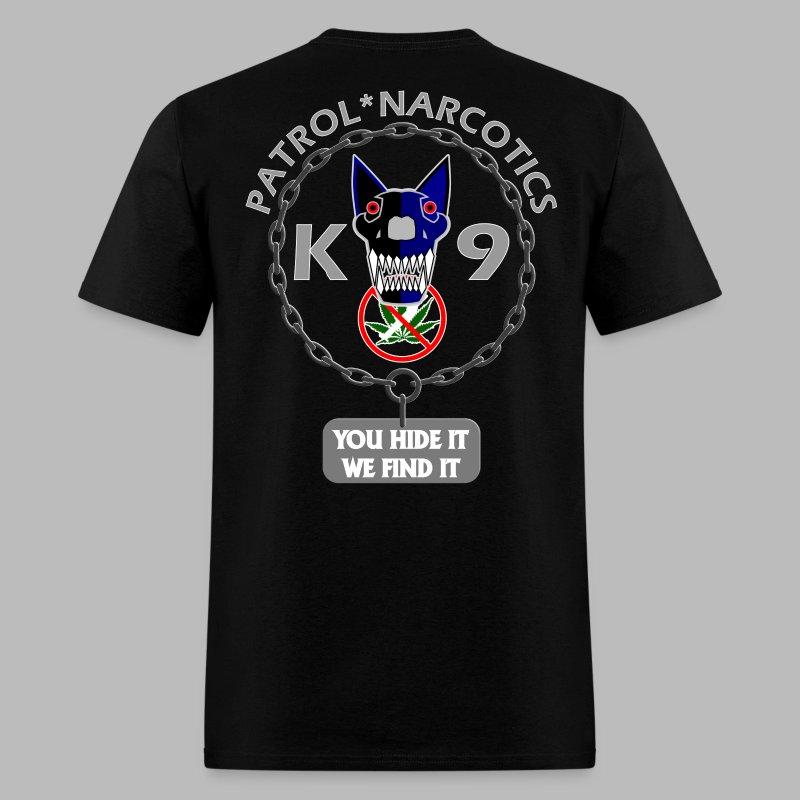Alpha Patrol Narcotics Police K 9 T Shirt T Shirt Alpha