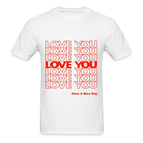 LOVE YOU - Men's T-Shirt