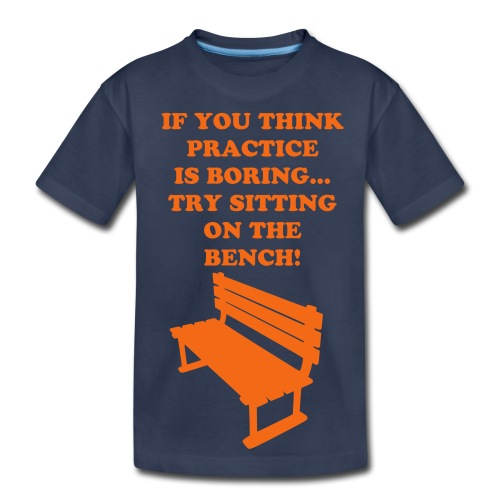 Sitting on the bench Tee - Kids' Premium T-Shirt