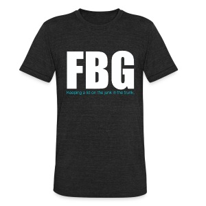 FBG Tee - Unisex Tri-Blend T-Shirt by American Apparel
