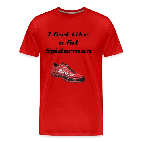 Fat Spiderman - Men's Premium T-Shirt