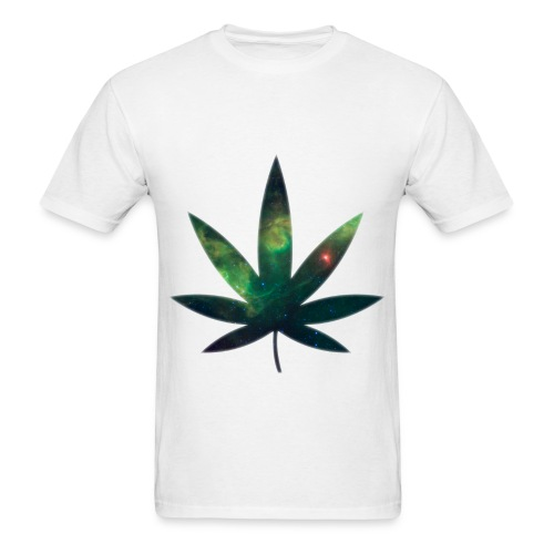SPACE WEED #2 - Men's T-Shirt