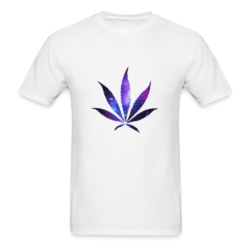 SPACE WEED #3 - Men's T-Shirt