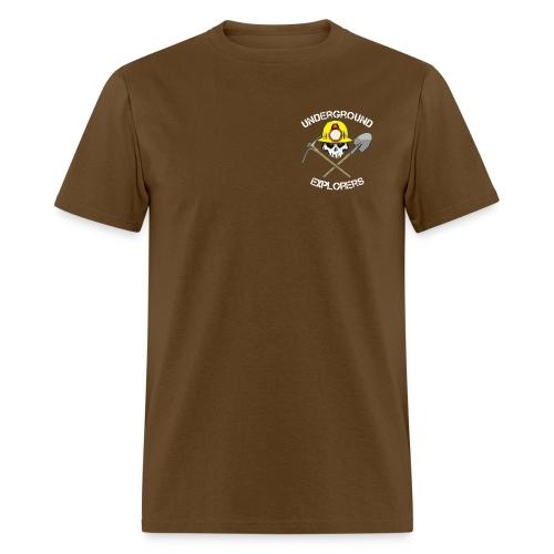 Underground Explorers Brown Logo Tee - Men's T-Shirt