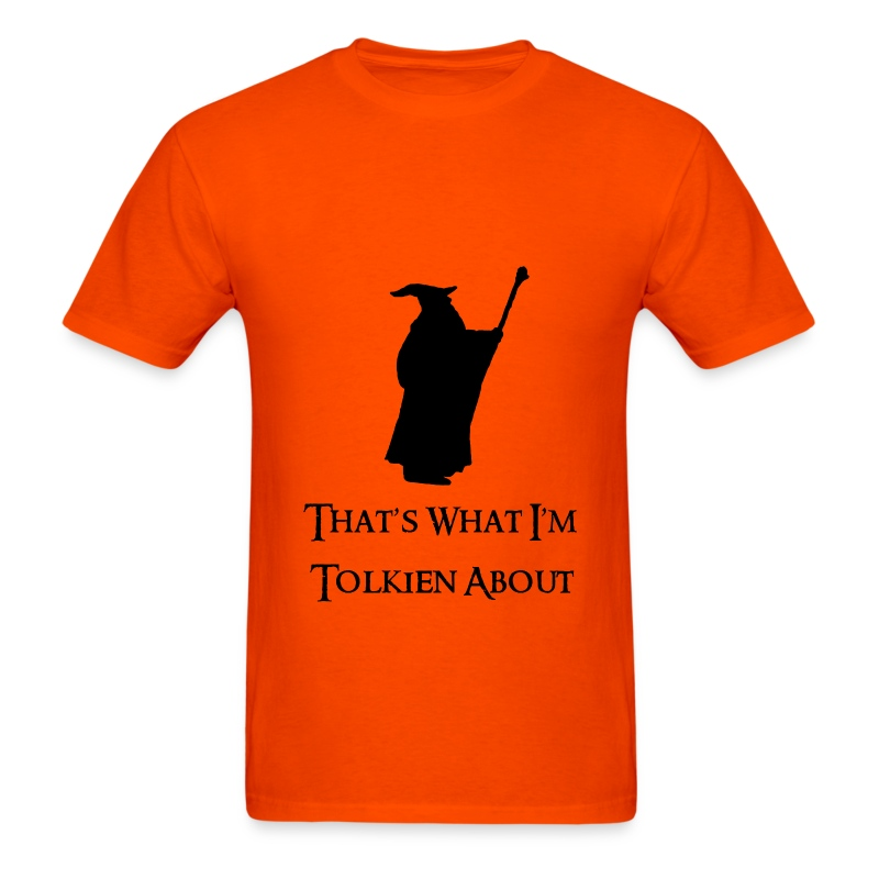 Tolkien About - Men's T-Shirt