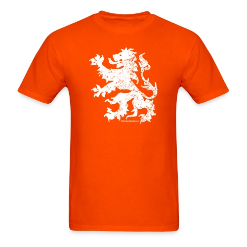 Dutch Lion (white) - Men's T-Shirt