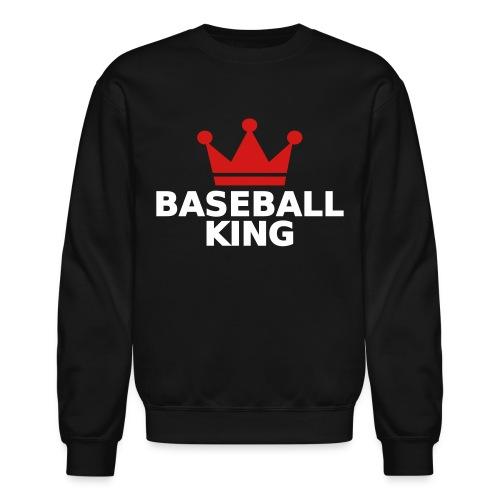 Baseball King (Crewneck) - Crewneck Sweatshirt