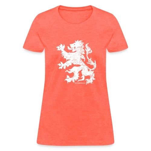 Dutch Lion (white) - Women's T-Shirt
