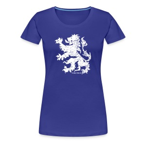Dutch Lion (white) - Women's Premium T-Shirt