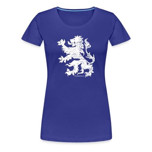 Dutch Lion (white) - Women's Premium T-Shirt