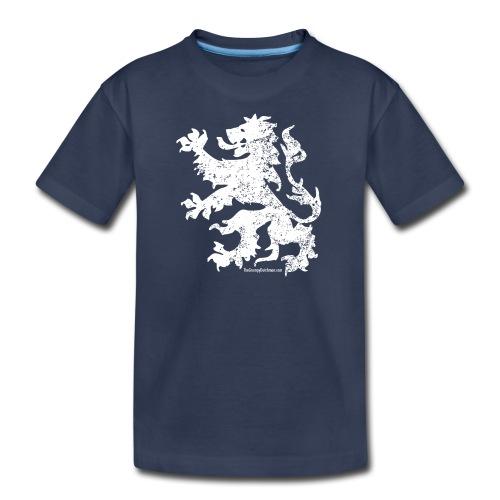 Dutch Lion (white) - Kids' Premium T-Shirt