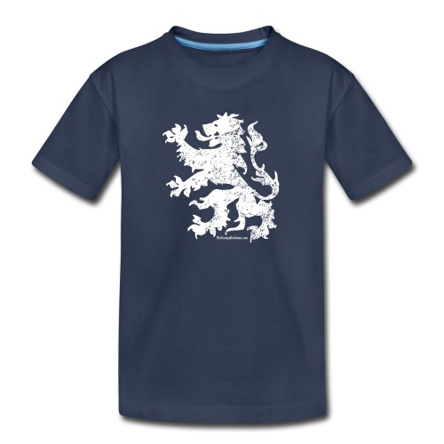 Dutch Lion (white) - Toddler Premium T-Shirt