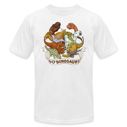I Heart Dinosaurs - Men's Fine Jersey T-Shirt