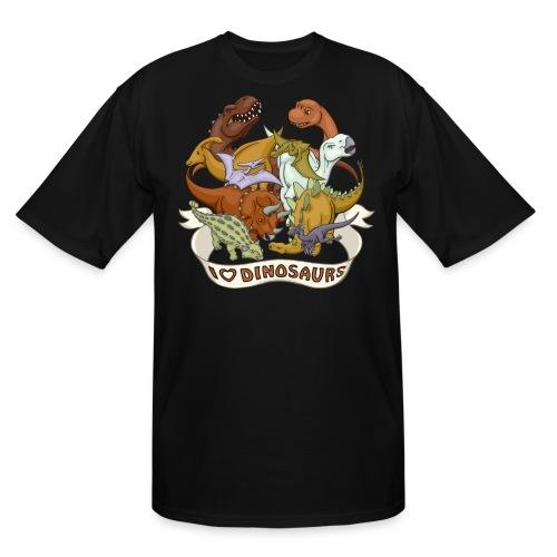I Heart Dinosaurs - Men's Tall T-Shirt