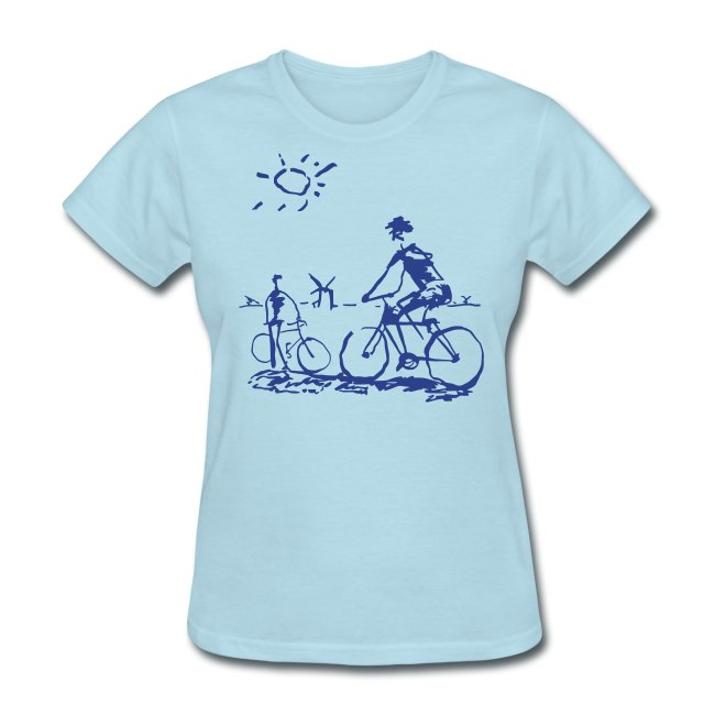 Picasso Bicycle - Bicycling Sketch