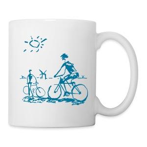 Picasso Bicycle - Bicycling Sketch - Coffee/Tea Mug