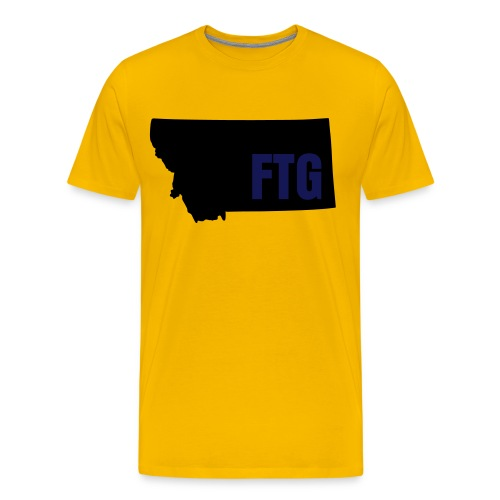 FTG GOLD - Men's Premium T-Shirt