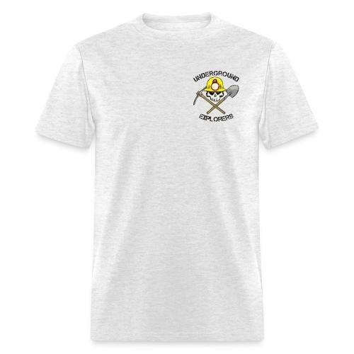 Underground Explorers Gray Logo Tee - Men's T-Shirt