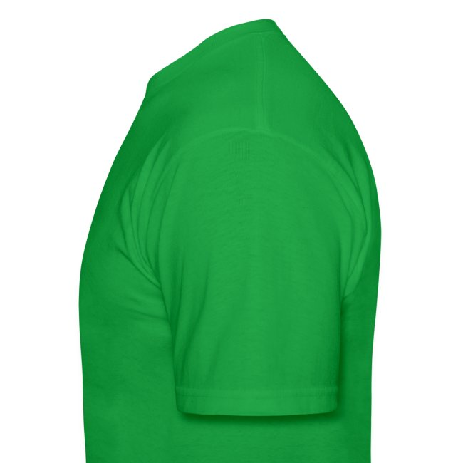 Underground Explorers Bright Green Logo Tee
