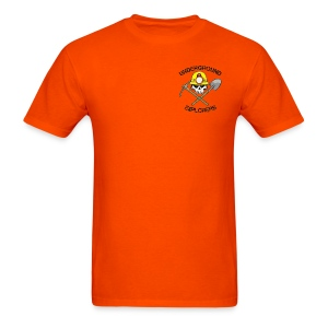 Underground Explorers Orange Logo Tee - Men's T-Shirt