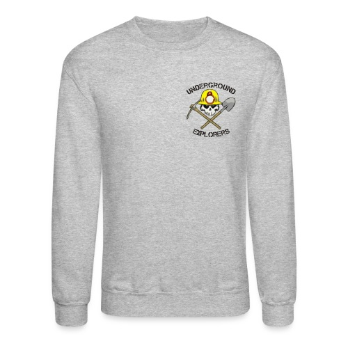 Underground Explorers Gray Sweatshirt - Crewneck Sweatshirt