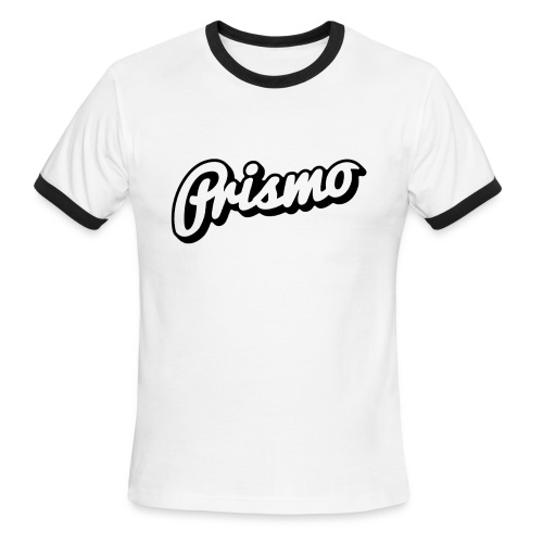 Prismo Men's Ringer Shirt - Men's Ringer T-Shirt