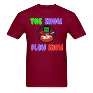 Jaahso's Snow Plow Show Design - Men's T-Shirt