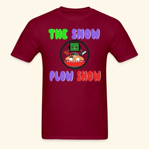 Jaahso's Snow Plow Show Design (standard) - Men's T-Shirt