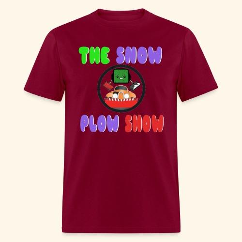 Jaahso's Snow Plow Show Design (standard) - Men's T-Shirt