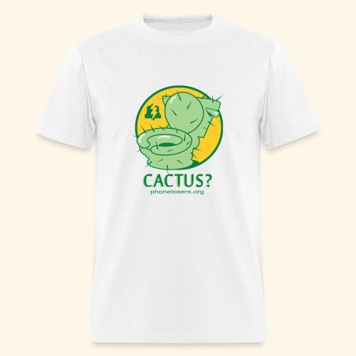 Cactus Toilet by Travis Vs. (standard) - Men's T-Shirt