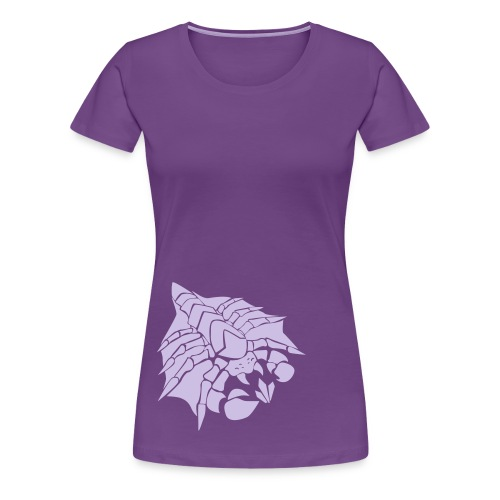Womens Happy Drone Purple Shirt - Women's Premium T-Shirt