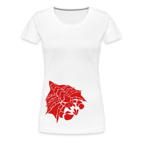 Womens Happy Drone Red Shirt - Women's Premium T-Shirt