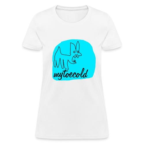 Mytoecold Dog - Women's T-Shirt