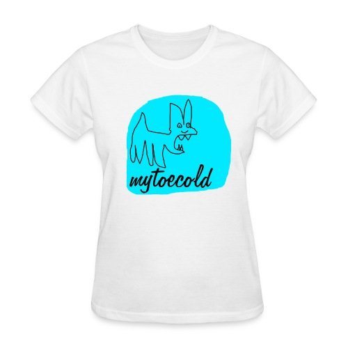 Mytoecold Dog - Women's T-Shirt