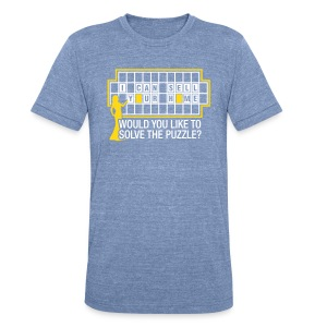 Wheel of Fortune Unisex - Unisex Tri-Blend T-Shirt by American Apparel