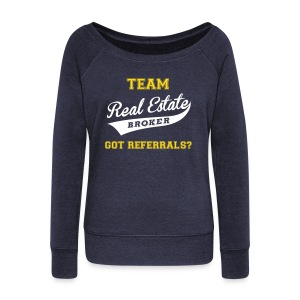 Team RE Wide Sweatshirt - Women's Wideneck Sweatshirt
