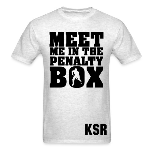 MEET ME IN THE PENALTY BOX - Men's T-Shirt