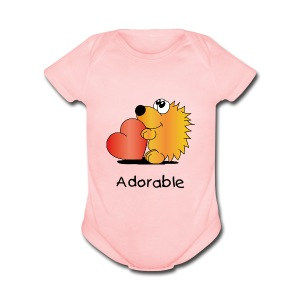Adorable - Short Sleeve Baby Bodysuit