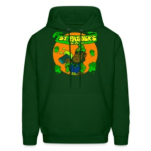 St. Patrick's Day Hooded Sweatshirt For Men - Men's Hoodie