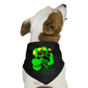 Kiss Me I'm Irish Ceramic Coffee Mug - Dog Bandana